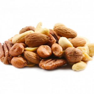 Mixed nuts without salt