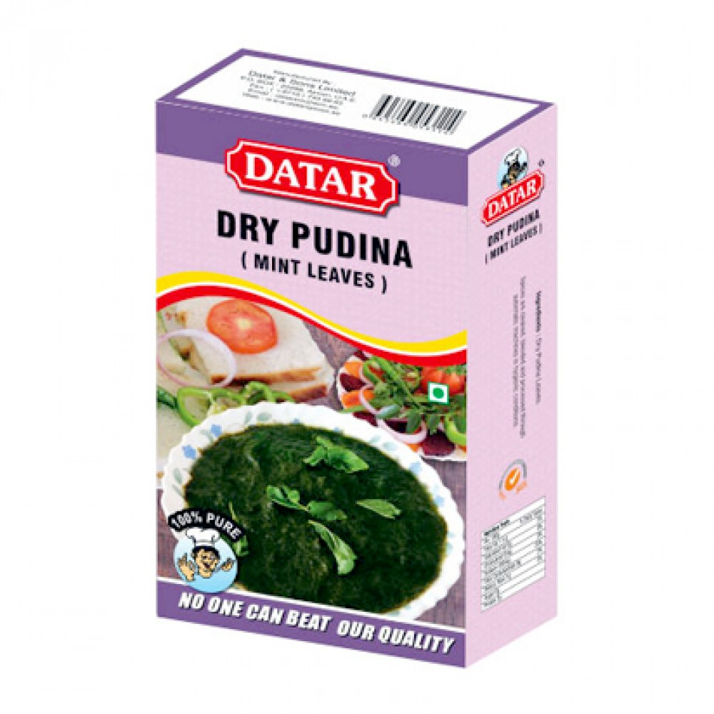 Datar Dry Mint Leaves (Pudina)