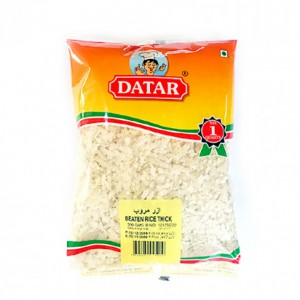 Datar Beaten Rice Thick-aval