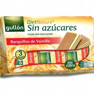 Gullon Sugar Free Wafer Barquillos De Vanilla