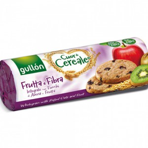 Gullon Cuor Di Cereale Fruit And Cereal Biscuits High In Fibre