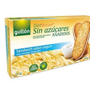 Gullon Diet Nature Sugar Free Sandwich With Yogurt
