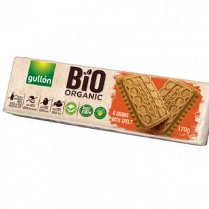 Gullon Bio Organic 4 Grains With Spelt Biscuits