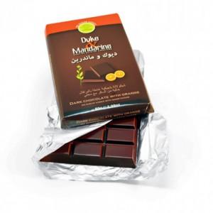Duke & Mandarine Sugar Free Dark Chocolate With Orange Tablet