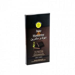 Duke & Mandarine Sugar Free Dark Chocolate Tablet