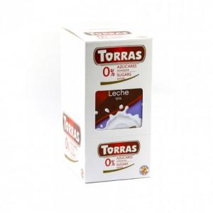 Torras Sugar Free Milk Chocolate Tablet