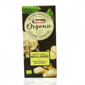 Torras Organic Dark Chocolate With Maca And Ginger