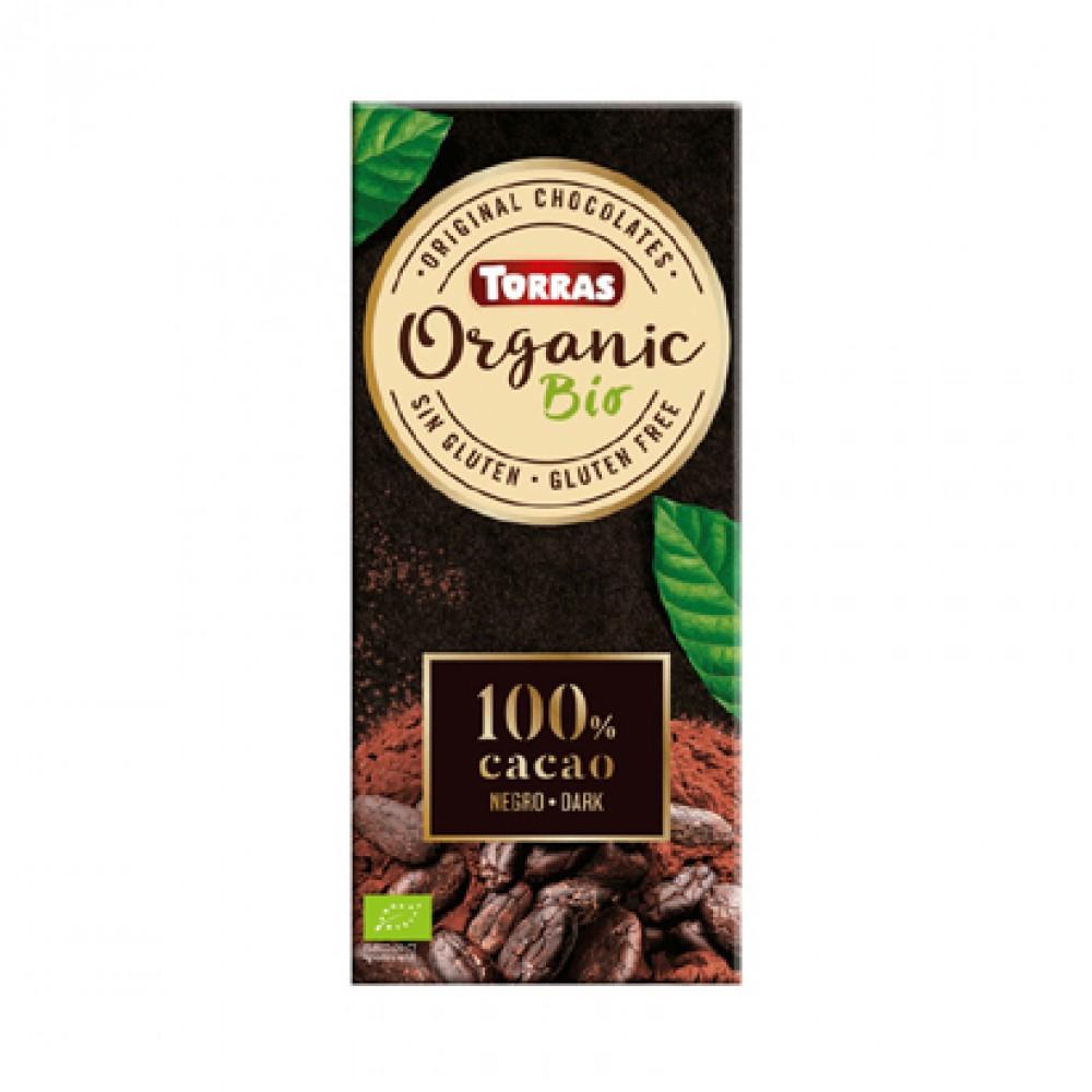 Toras Organic 100% Cacao Dark