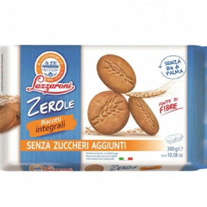 Lazzaroni Zerole Sugar Free Integral Wholemeal Biscuit