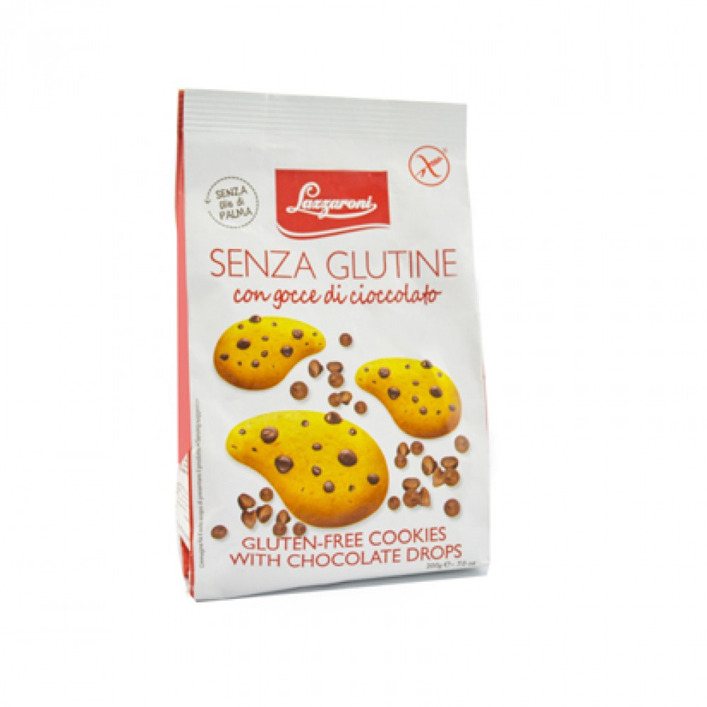 Lazzaroni Gluten Free Cookies With Chocolate Drops