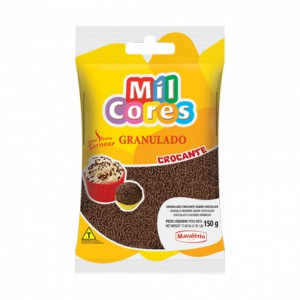 Mavalerio Mil Cores Chocolate Flavored Hard Sprinkles