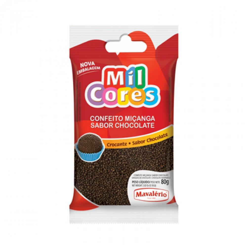 Mavalerio Mil Cores Chocolate Non Pareils