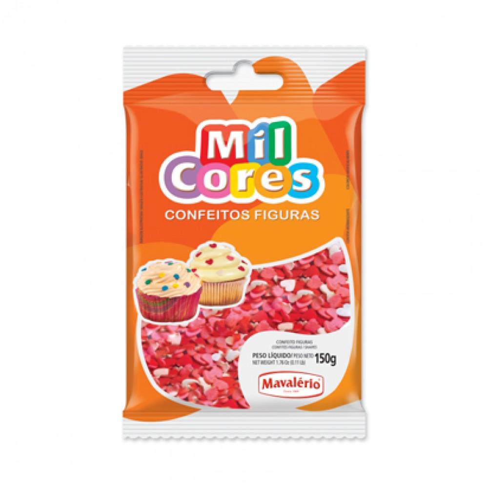 Mavalerio Mil Cores Confectionery Heart Shape