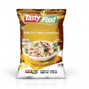 Tasty Food Semolina (Rava) Roasted