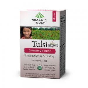 Organic India Tulsi Cinnamon Rose