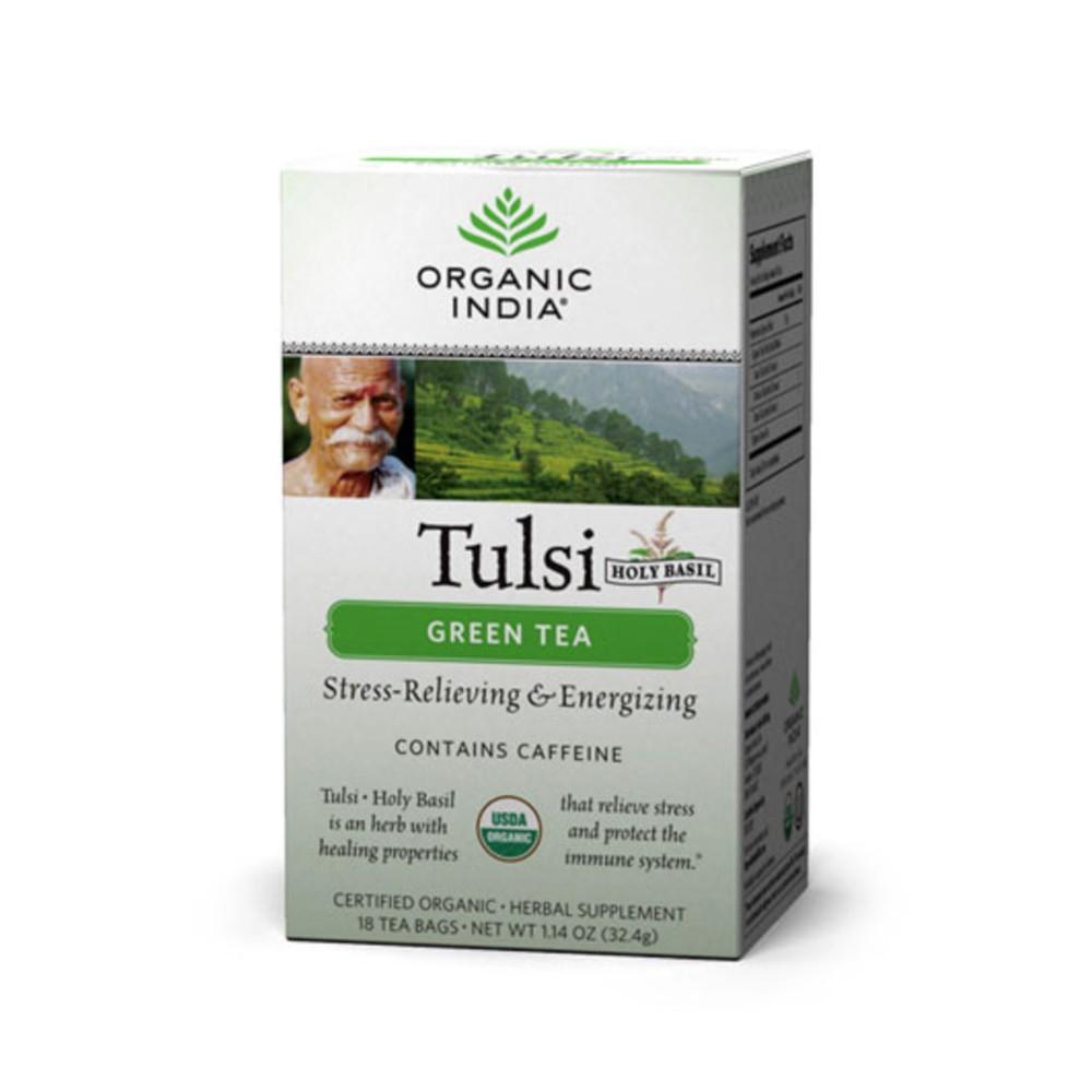 Organic India Tulsi Green Tea (Tea Bags)