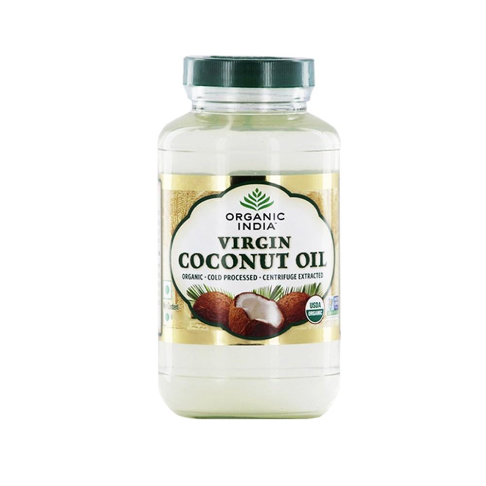 Organic India Organic Coconut Oil - Virgin