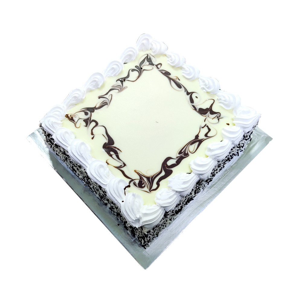 Black & White Chocolate Cake