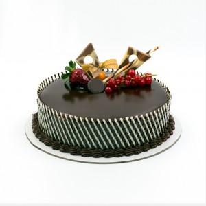 Chocolate Truffle Lattice