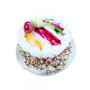 Rainbow cake (small)