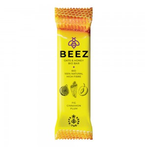 Beez Oats & Honey Bio Bar Fig & Cinnamon & Plum