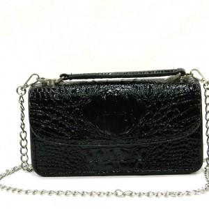Apples Croco Pattern Hard Wallet Women Mini bag - LS02