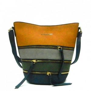 Apples Multiple Zip Crossbody Bag - WL5010