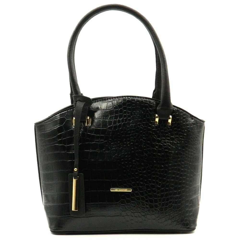 Apples Croco Pattern Shopper Bag - WL2608
