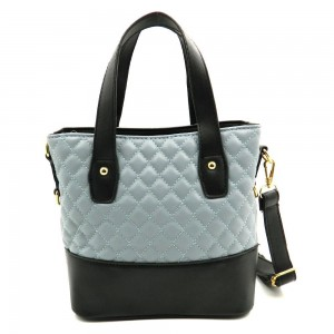 Apples Quilted Soft PU Top Handle Tote Bag - JY1009