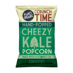 Planet-organic Cheezy Kale Popcorn