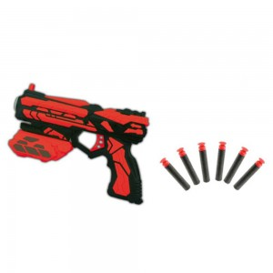 High Speed Pistol Soft Bullet Gun Toy