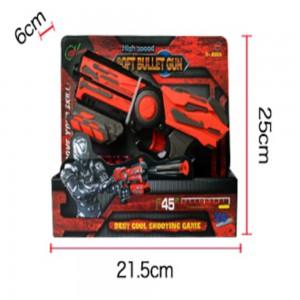 High Speed Pistol Soft Bullet Gun with 6 Bullets