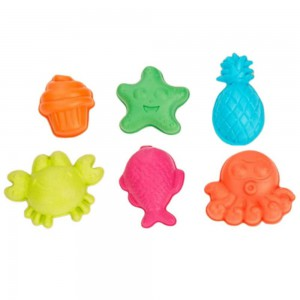 Beach toy sea animal 6pcs set