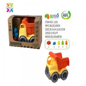 Eco Friendly Dumper Bricks Vehicle