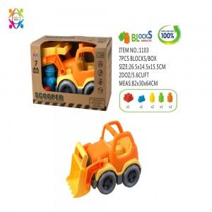 Eco Friendly Scooper Bricks Vehicle