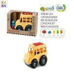 Eco Friendly Cartoon Car 6 Bricks Vehicle