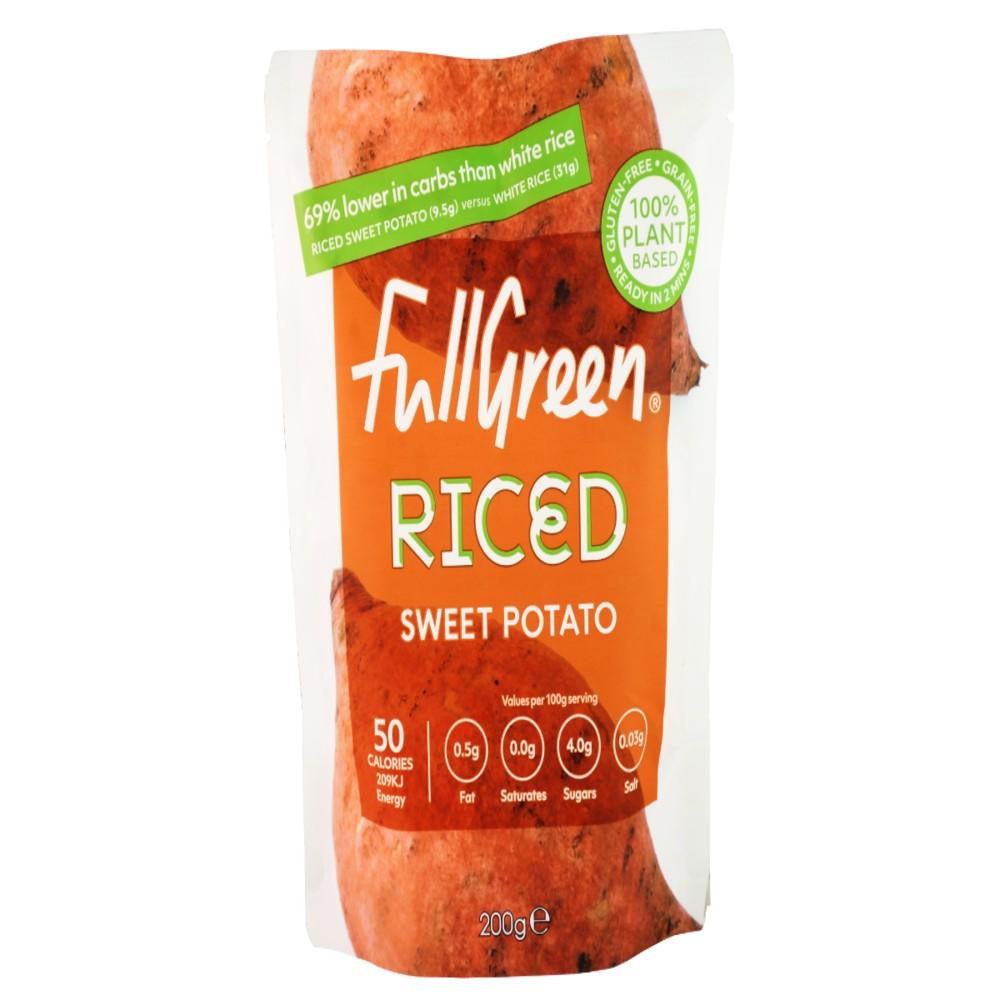 Full Green Vegi Rice Riced Sweet Potato