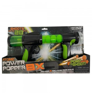 Atomic power popper 8X - Green