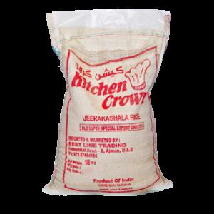 Kitchen Crown Jeerakasala Rice 18 Kg