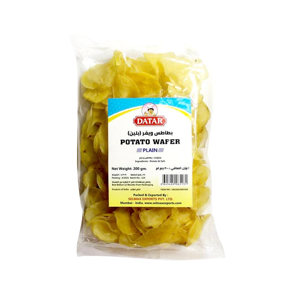 Datar Potato Wafer Plain