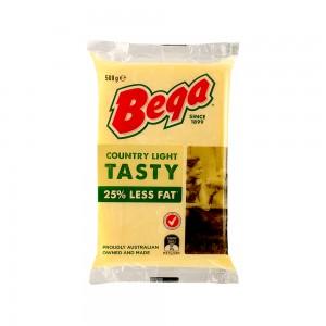 Bega Country Light Tasty 25% Rf Block Cheese