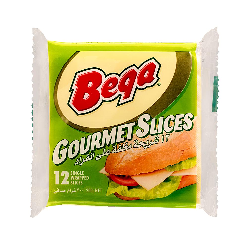 Bega Gourmet Processed Slice Cheese
