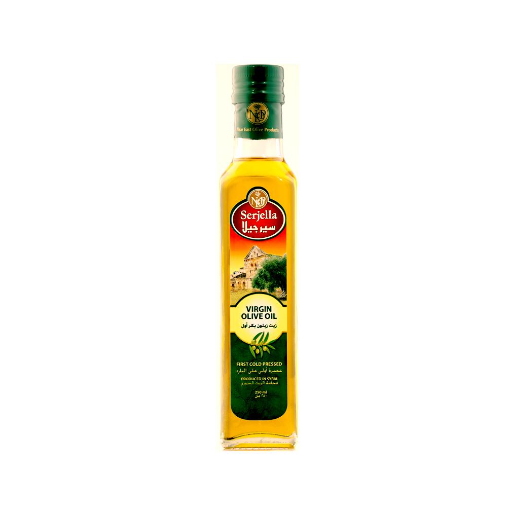 Serjella Virgin Olive Oil In Glass Bottle