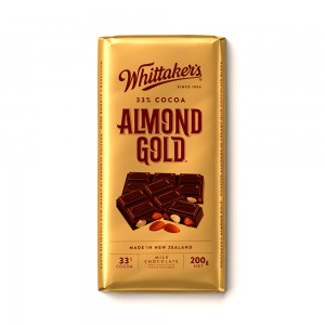 Whittakers Almond Gold Bar