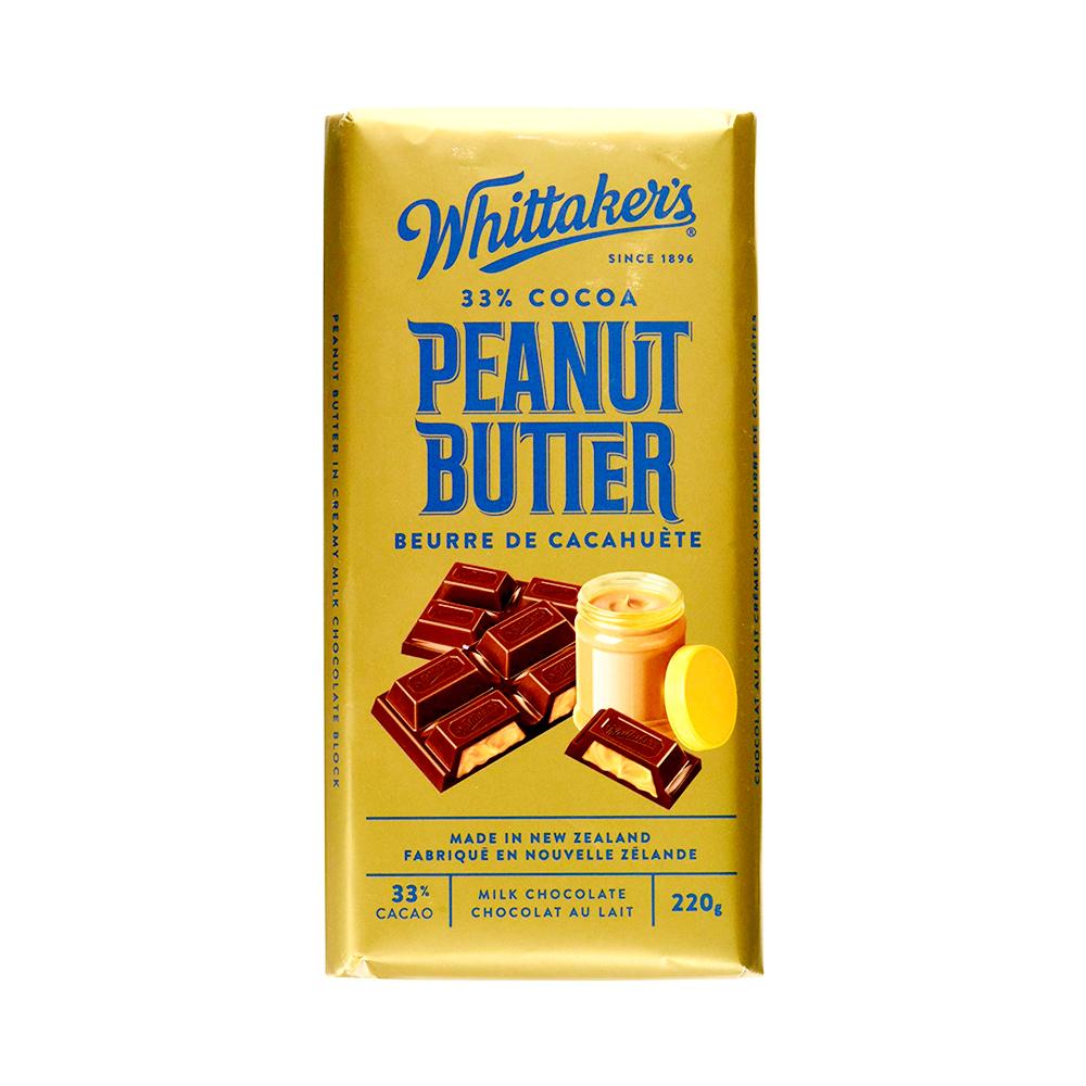 Whittakers Peanut Butter Bar