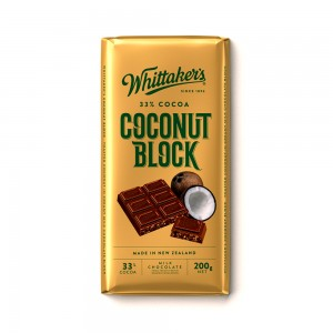 Whittakers Coconut Block Bar