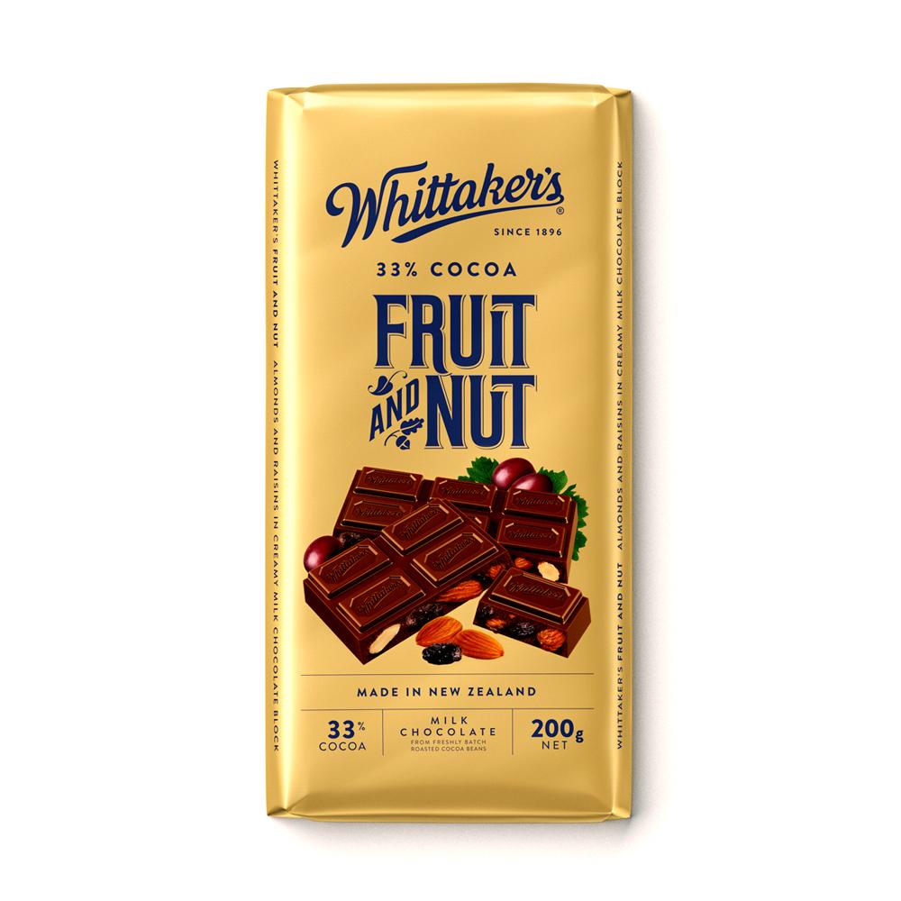 Whittakers Fruit & Nut Bar