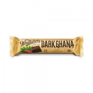Whittakers 72 % Dark Ghana Chunks