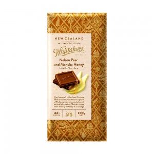 Whittakers Nelson Pear & Manuka Honey Block
