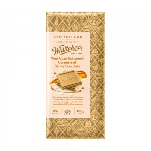 Whittakers West Coast Buttermilk Caramelised White Choc